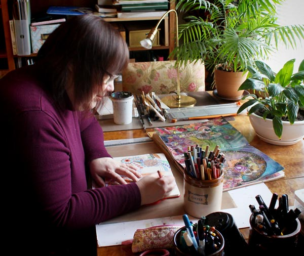 Paivi Eerola of Peony and Parakeet. Read about her artistic journey.