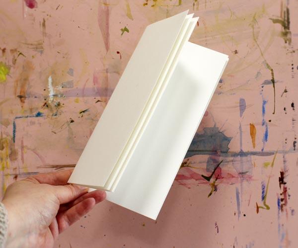 Watercolor journal.