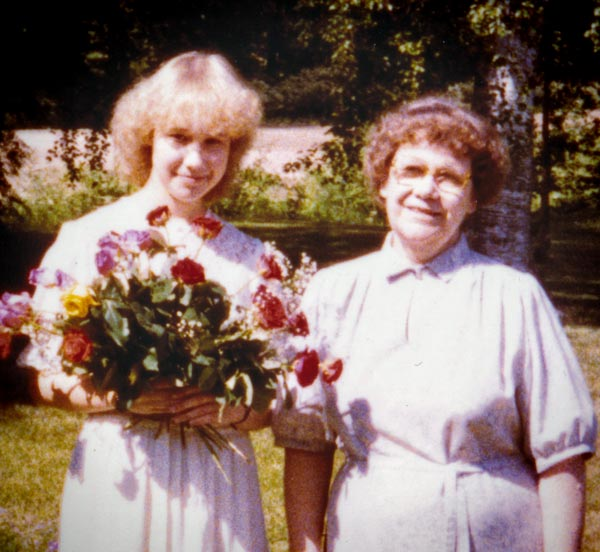 Artist Paivi Eerola and her mother. Read about how she has influenced her artistic voice.