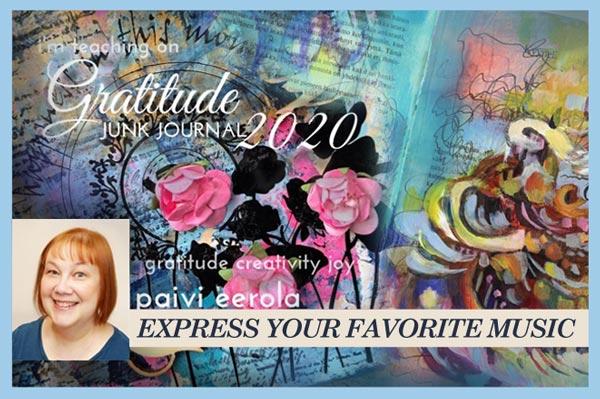 Gratitude Junk Journal 2020