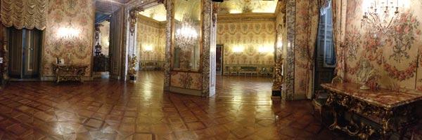 Interiors of Palazzo Doria Pamphilj, Rome.