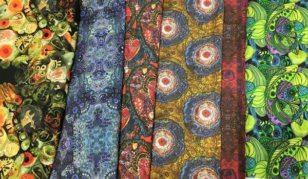 Paivi Eerola's fabric designs.