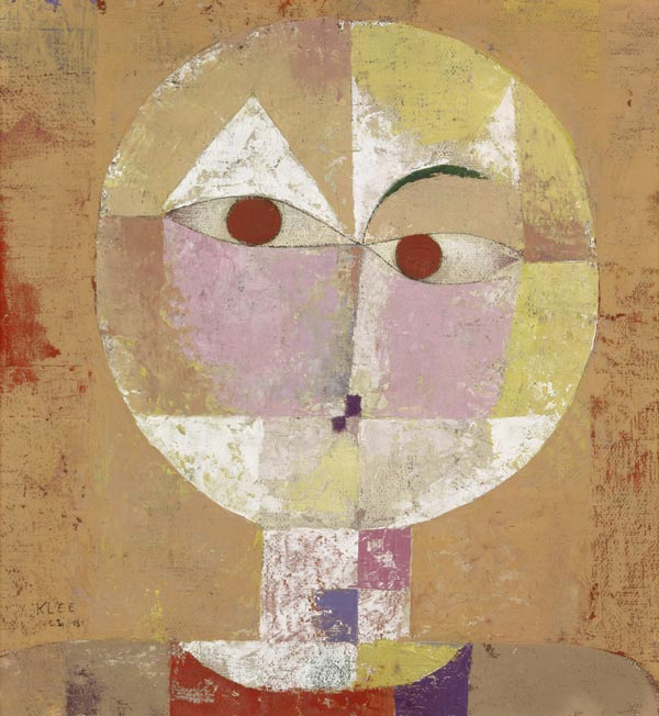 Paul Klee, Scenecio - Head of a Man Going Senile, 1922, 40.3 x 37.4 cm, Kunstmuseum Basel, Switzerland
