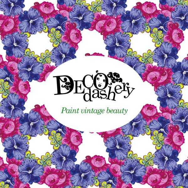 Decodashery, online art class by Paivi Eerola of Peony and Parakeet