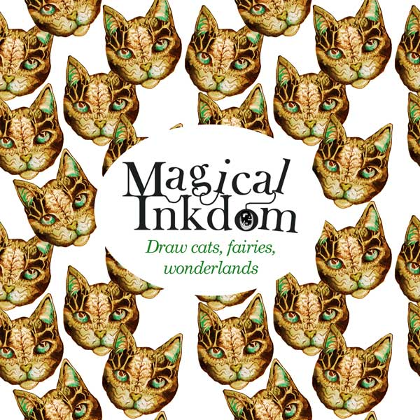 Magical Inkdom, online art class by Paivi Eerola of Peony and Parakeet