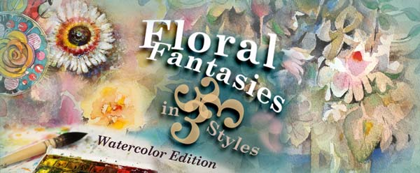 Floral Fantasies Watercolor Edition, an online class about painting flowers. By Paivi Eerola of Peony and Parakeet.