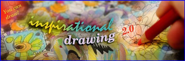 Inspirational Drawing, an online art class about drawing freely