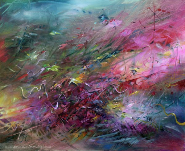 Restless Heart, oil painting by Paivi Eerola
