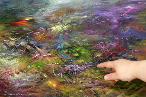 A very detailed oil painting. Finding uncommon inspiration. By Paivi Eerola.